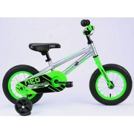 Велосипед 12 Apollo NEO boys салатовый/черный