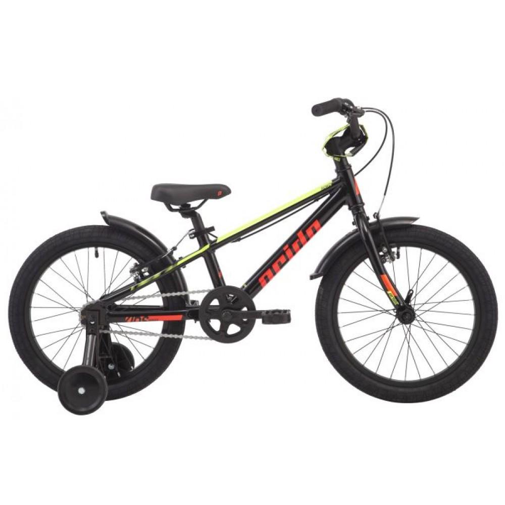 Велосипед 18 Pride ROWDY 18 черный 2019
