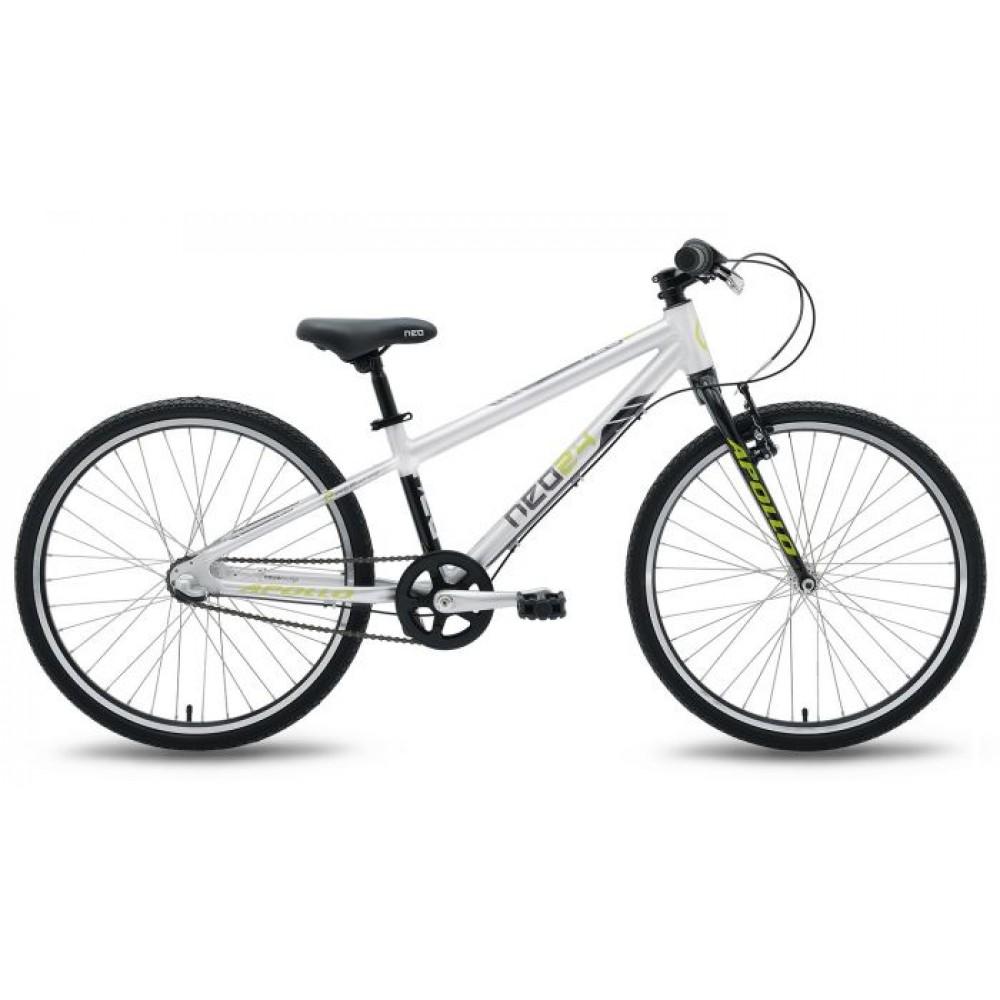Велосипед 24 Apollo NEO 3i boys черный /лайм