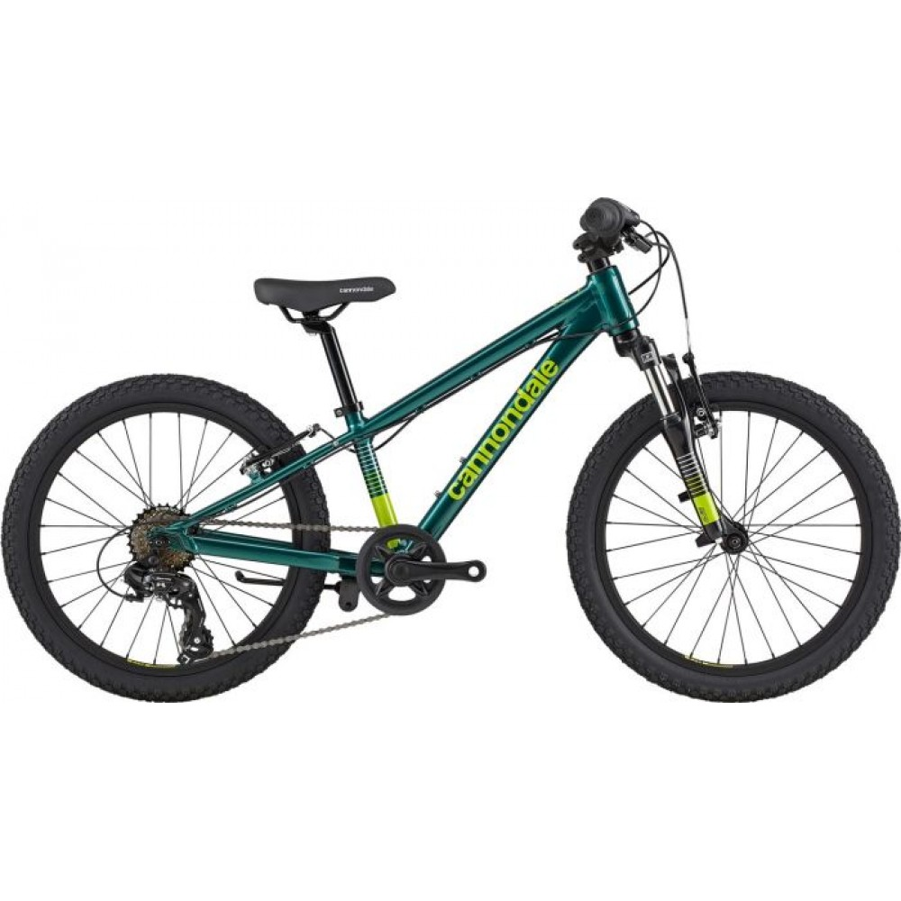 Велосипед 20 Cannondale TRAIL BOYS OS 2020 EMR, зелёный