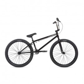 Велосипед 24 Stolen SAINT 2020 BLACK & CHROME PLATE, черный