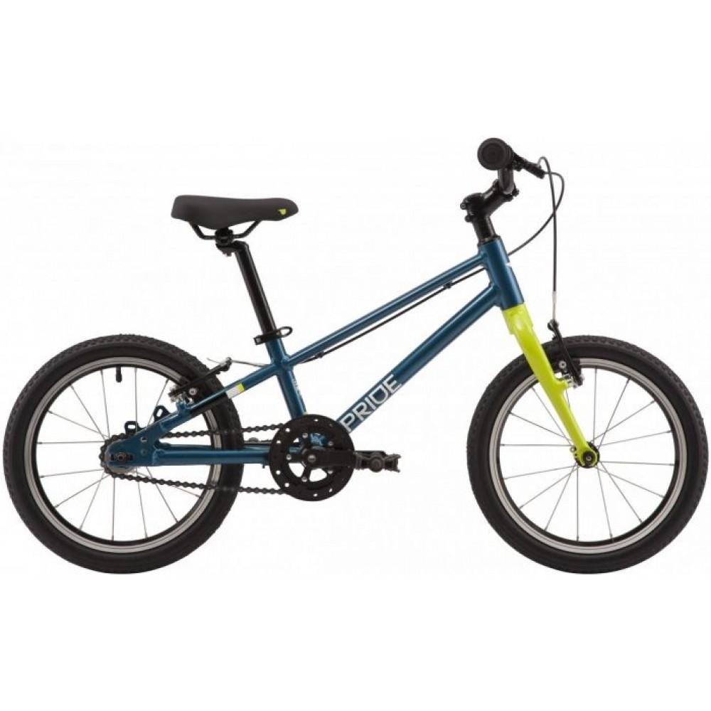 Велосипед 16 Pride GLIDER 16 2020, бирюзовый