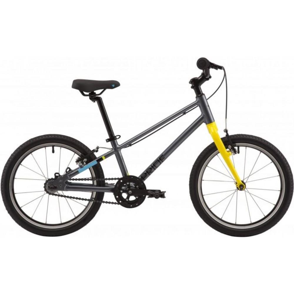 Велосипед 18 Pride GLIDER 18 2020, серый