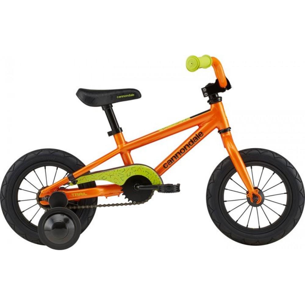 Велосипед 12 Cannondale TRAIL 1 OS 2020 CRU, оранжевый