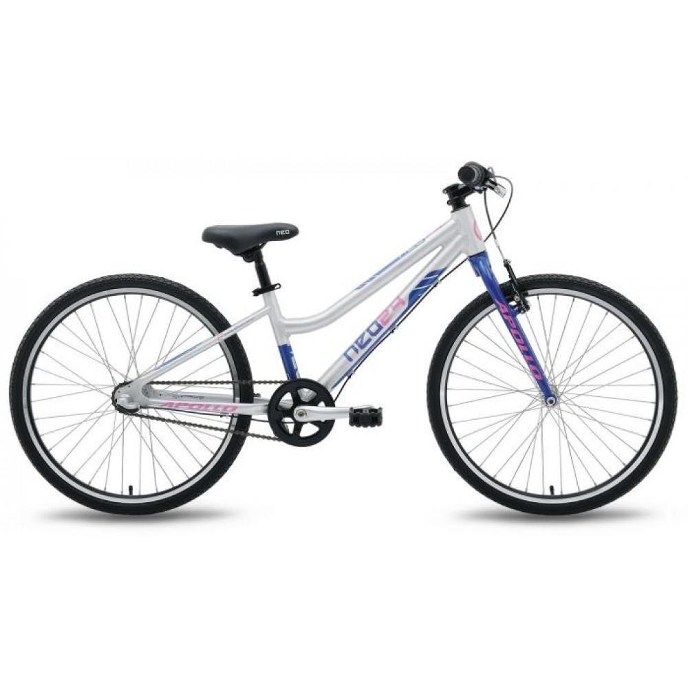 Велосипед 24 Apollo NEO 3i girls синий/розовый