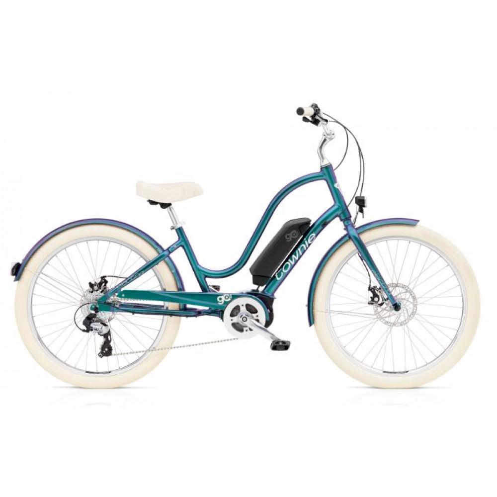 Велосипед 26 Electra Townie GO! 8d Ladies' электро привод EU GN