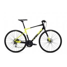 Велосипед 28 Marin FAIRFAX 2 рама - XL 2020 Satin Black/Gloss Hi-Vis Yellow/ Silver