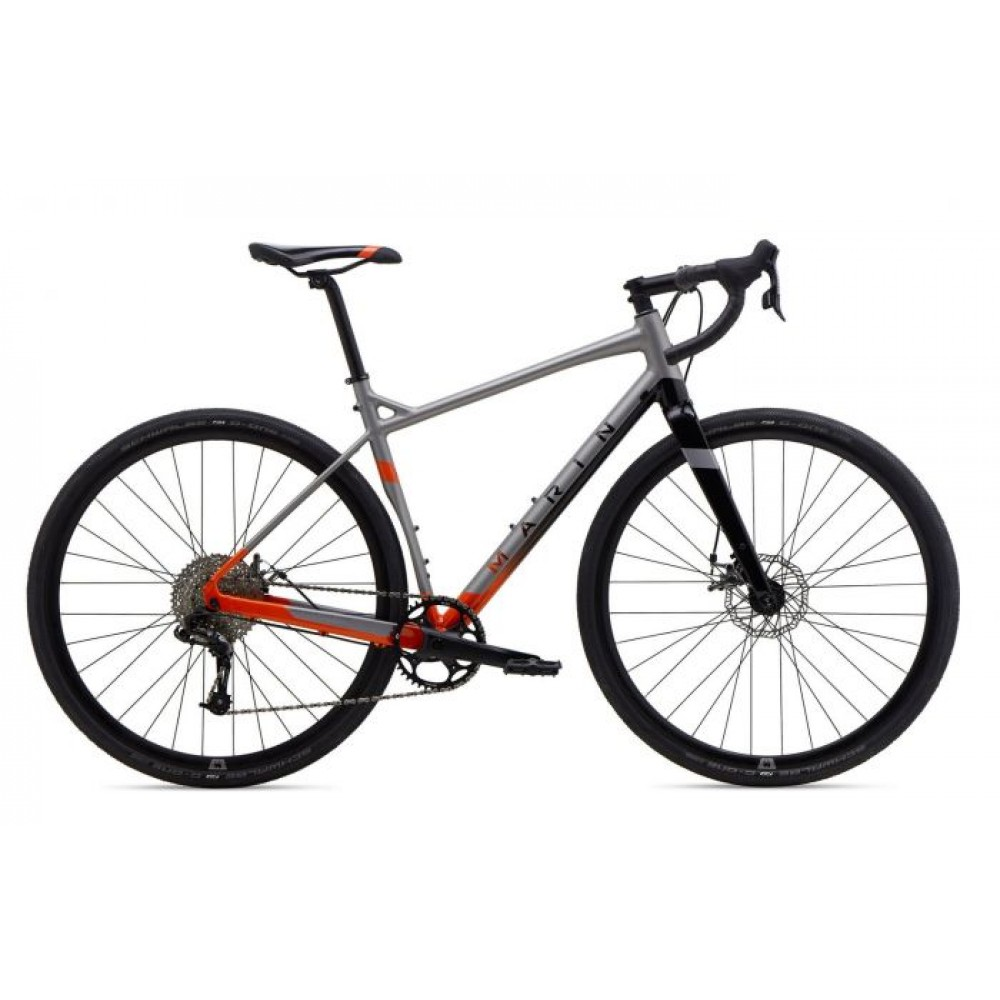Велосипед 28 Marin GESTALT X10 рама - 50см 2020 Satin Silver/Gloss Orange to Black Fade