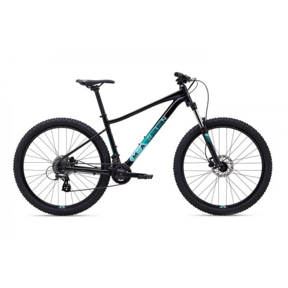 Велосипед 27,5 Marin WILDCAT TRAIL 3 WFG рама - S 2020 Gloss Black/Dark Teal/Light Teal