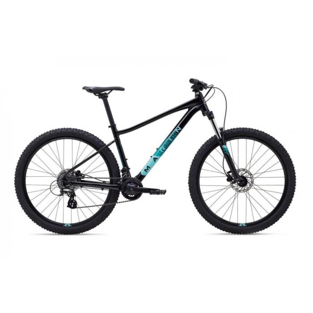 Велосипед 27,5 Marin WILDCAT TRAIL 3 WFG рама - L 2020 Gloss Black/Dark Teal/Light Teal