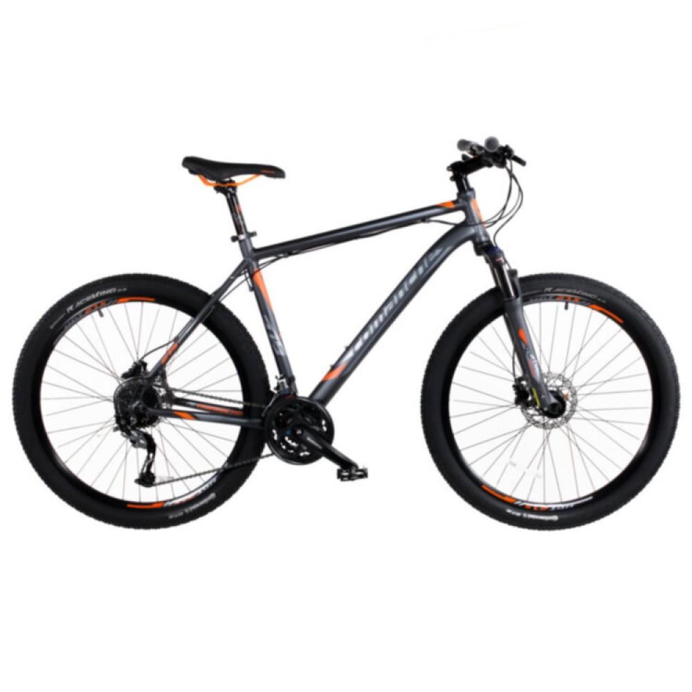Велосипед Comanche Hurricane 27, рама 17.5, серый-оранжевый