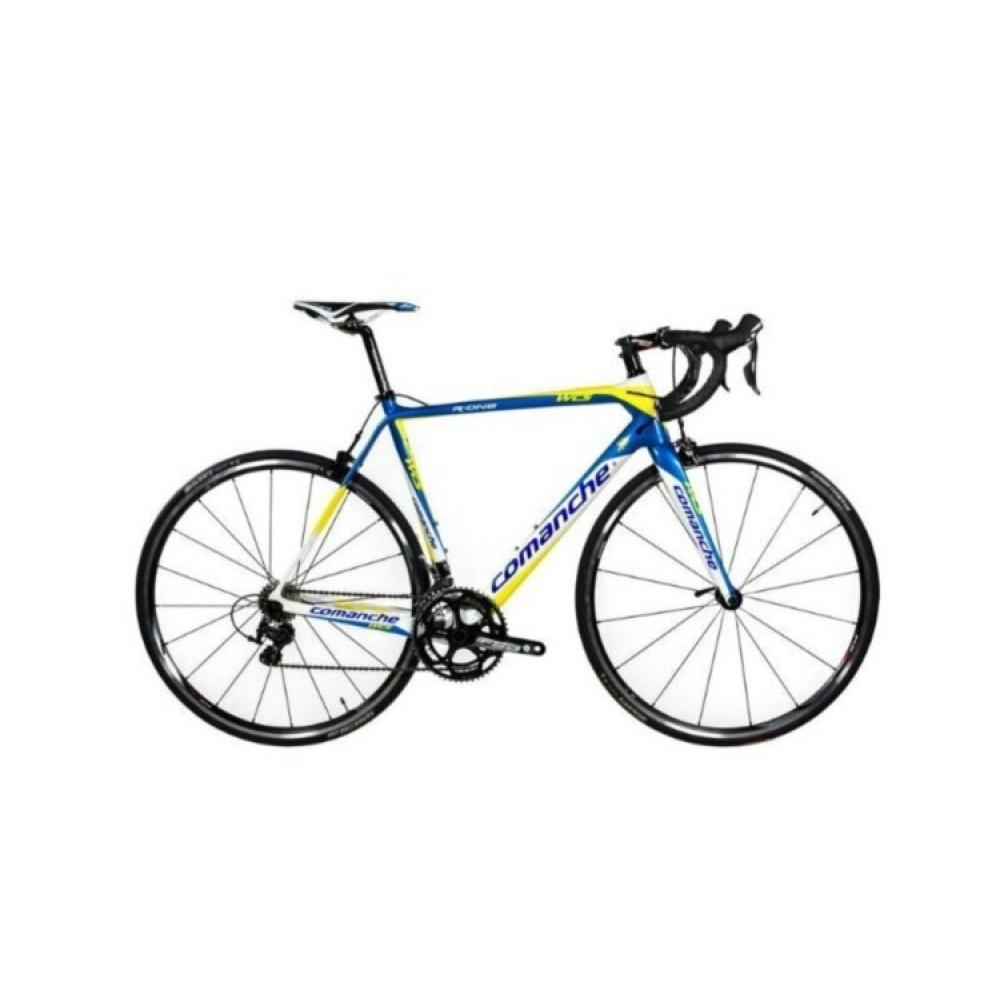 Велосипед Comanche R-One, рама 57CM, желтый-синий