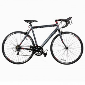 Велосипед Comanche Strada Comp, рама 54CM, серый-красный