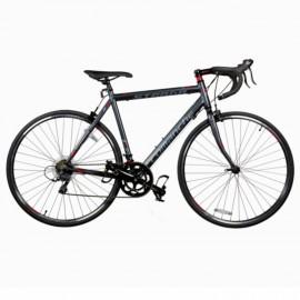 Велосипед Comanche Strada Comp, рама 56CM, серый-красный