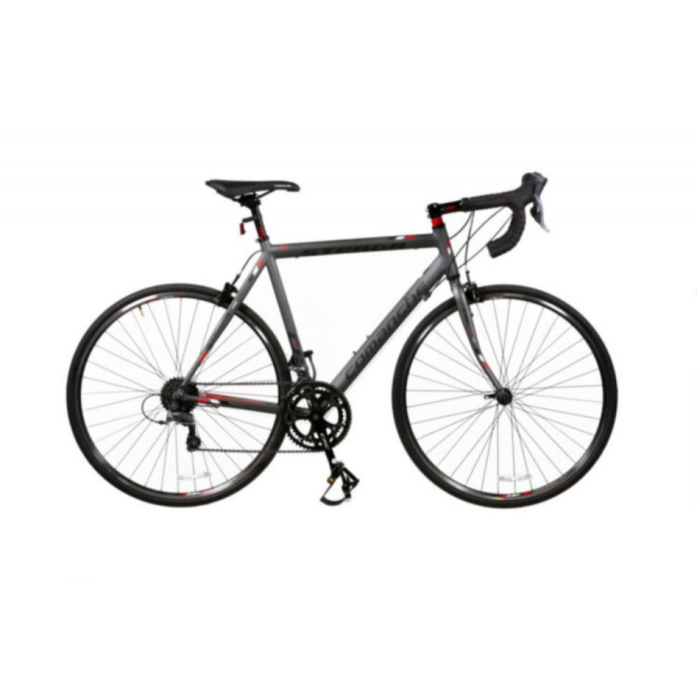 Велосипед Comanche Strada Pro, рама 54CM, серый-красный