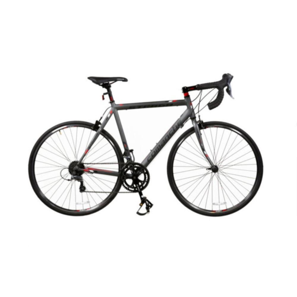 Велосипед Comanche Strada Pro, рама 56CM, серый-красный