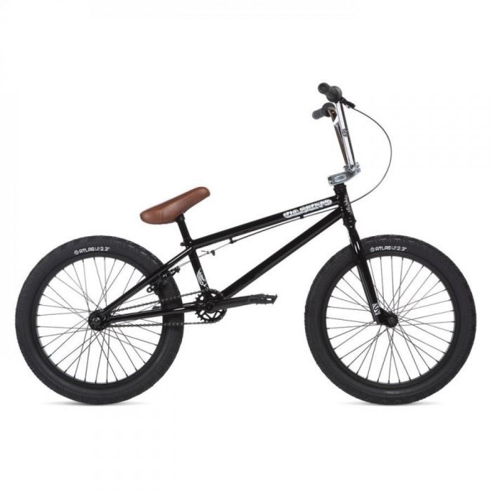 Велосипед 20 Stolen CASINO XS рама - 19.25 2020 BLACK & CHROME PLATE