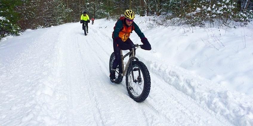 Особенности катания на велосипеде в зимний период