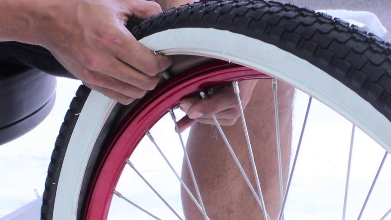 Как поменять камеру в колесе велосипеда